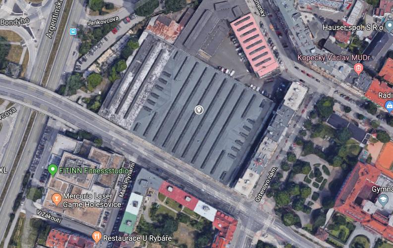 Novostavba Rezidence Pergamenka prodej bytů Praha 7 - Holešovice