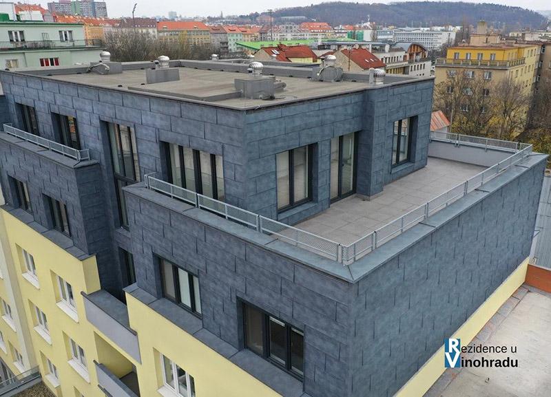 Novostavba Rezidence U Vinohradu prodej bytů Praha 10 - Vršovice