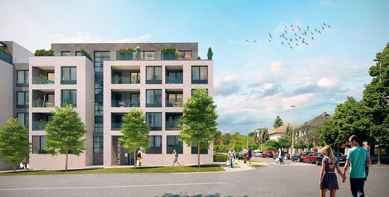 Novostavba Rezidence Silver Port prodej bytů Praha 10 - Strašnice