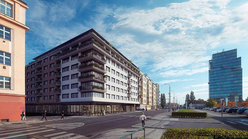 Novostavba Byty Dělnická prodej bytů Praha 7 - Holešovice