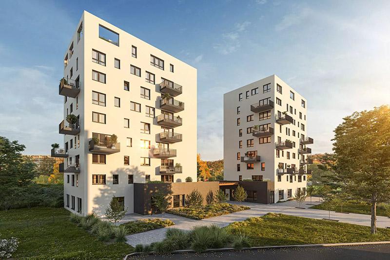 Novostavba R2 Rokytka prodej bytů Praha 9 - Vysočany