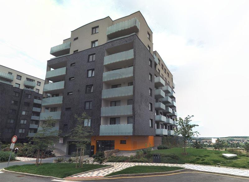 Novostavba Britská čtvrť VIII prodej bytů Praha 5 - Stodůlky