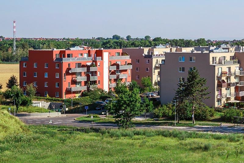 Novostavba Hostivice Jih prodej bytů Praha-západ - Hostivice