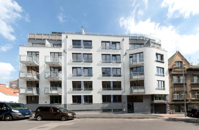 Novostavba Rezidence Studánka prodej bytů Praha 8 - Libeň