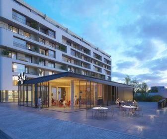 Novostavba Ponavia rezidence II prodej bytů Brno - Ponava