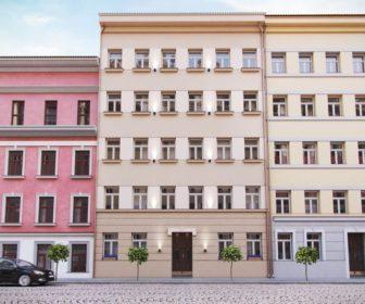Novostavba Rezidence Křišťanova prodej bytů Praha 3 - Žižkov