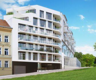 Novostavba Rezidence Kobrova prodej bytů Praha 5 - Smíchov