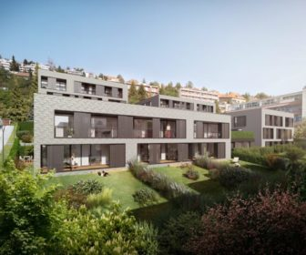 Novostavba Bytové domy Neumanka prodej bytů Brno - Brno-střed