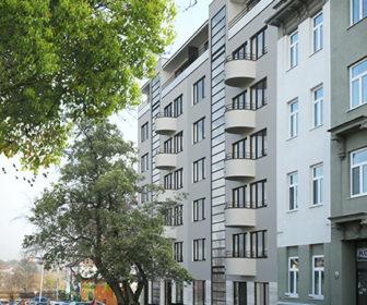 Novostavba Rezidence Briga prodej bytů Brno - Královo Pole