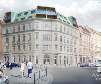 Novostavba Rezidence Údolní 36 prodej bytů Brno - Brno-střed