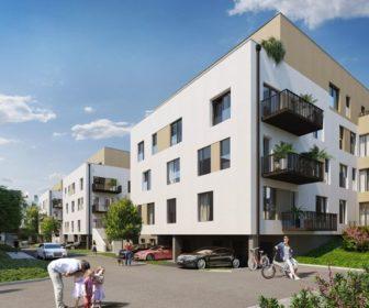 Novostavba Byty u parku Na Vackově prodej bytů Praha 3 - Žižkov