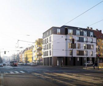 Novostavba Rezidence Merhautova prodej bytů Brno - Černá Pole