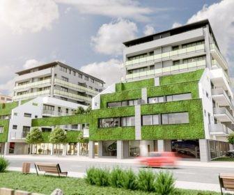 Novostavba Rezidence Oskarka prodej bytů Jihočeský kraj - České Budějovice