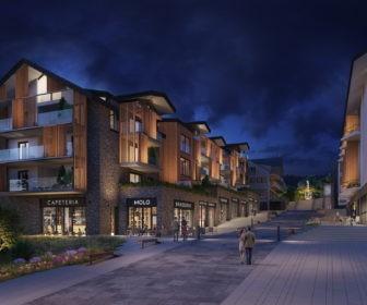 Novostavba Molo Lipno Resort prodej bytů Jihočeský kraj - Lipno