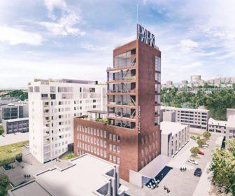 Novostavba Park Tower Zlín prodej bytů Zlínský kraj - Zlín