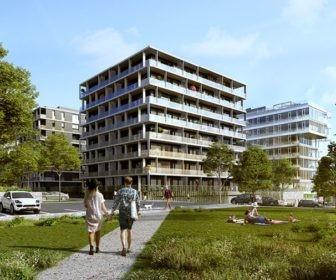 Novostavba Rohan City - Riviéra Karlín prodej bytů Praha 8 - Karlín