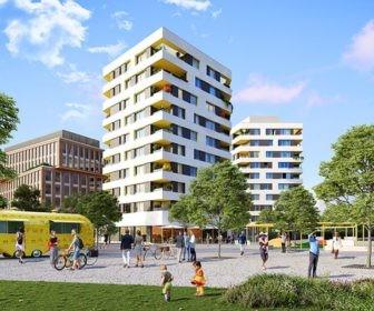 Novostavba Rohan City - Diamanty Karlín prodej bytů Praha 8 - Karlín