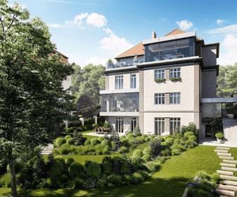 Novostavba Villa Nuova prodej bytů Praha 5 - Smíchov