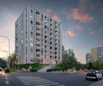 Novostavba Alfa Residence prodej bytů Praha 5 - Stodůlky