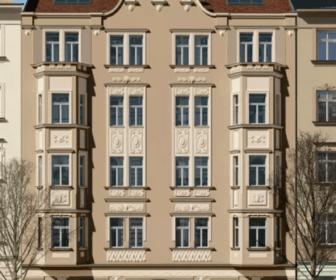 Novostavba Mánesova 86 prodej bytů Praha 2 - Vinohrady