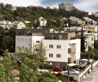 Novostavba Vila Rokoska prodej bytů Praha 8 - Libeň