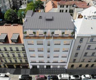 Novostavba Římská 20 prodej bytů Praha 2 - Vinohrady