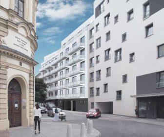 Novostavba Rezidence Vranovská prodej bytů Jihomoravský kraj - Brno-Zábrdovice