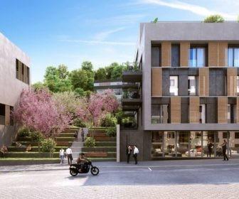 Novostavba Rezidence Neklanka II prodej bytů Praha 5 - Smíchov