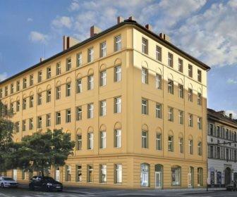 Novostavba Carolina Corner prodej bytů Praha 8 - Karlín