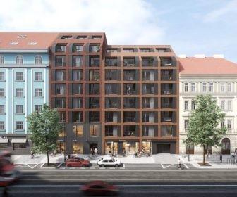 Novostavba Iconik prodej bytů Praha 8 - Karlín